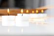 Kerzen und Ambiente