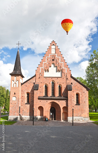 a church near uppsala in Sweden