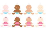 Multiracial Babies poster