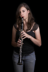 Clarinet Player #1