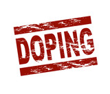 Doping / vektor poster