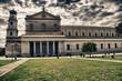 Leinwanddruck Bild - San Paolo Fuori le Mura, Rome