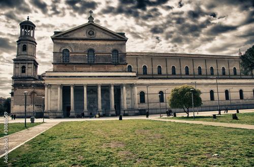 Leinwanddruck Bild San Paolo Fuori le Mura, Rome