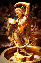 Statue of indian hindu god Shiva Nataraja - Lord of Dance