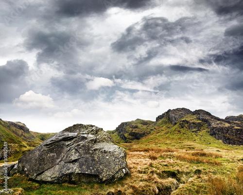 Harsh landscape
