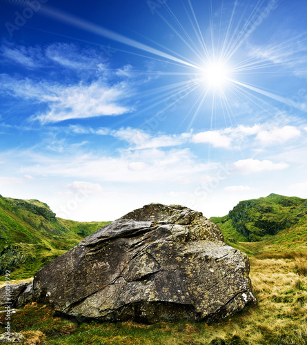 Rock and sunshine