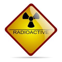 Segnale pericolo radioattività