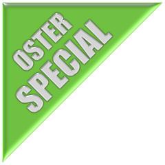 Dreieck hellgrün OSTER SPECIAL