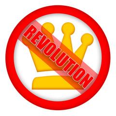 Revolution sign