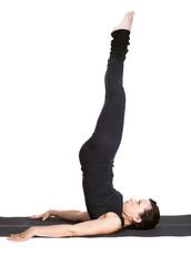 yoga excercising