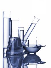 chemistry still-life