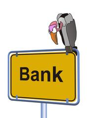 Bank pleite