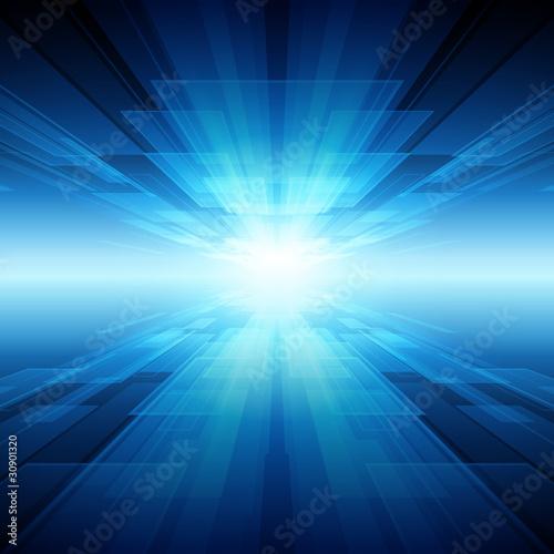 Tło wektor wirtualnych tecnology