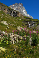 Cascata alpina