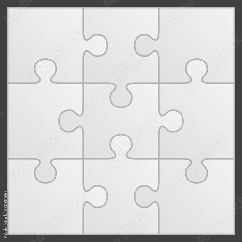 Puzzle vector illustration