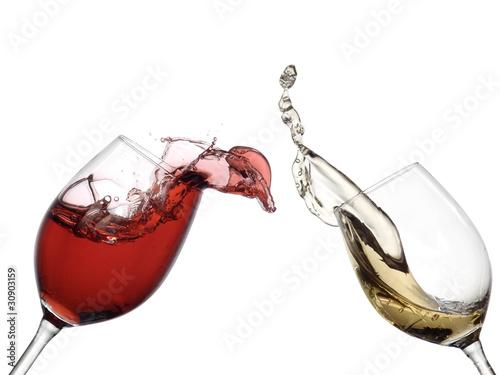 White wine up to red wine