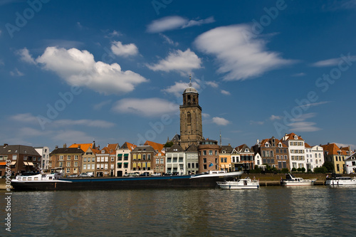 Deventer at the ijssel river