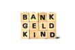 Bank geld kind