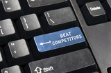 Beat competitors key poster