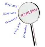 Evaluate yourself poster