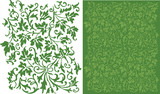 Ivy Filigree Pattern poster