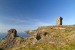 Ruins of old castle on Cliffs of Moher - Ireland