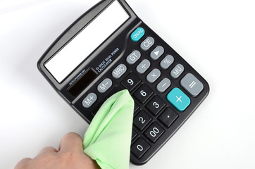 Cleaning calculator
