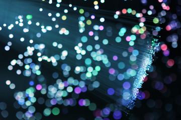 bunch of optical fibres dinamic