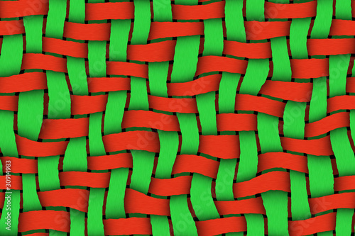 Red - Green Twill Background