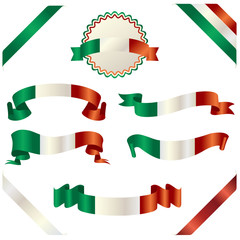 set of italian ribbon