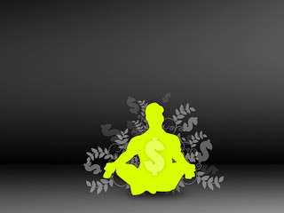 Yellow Symbolic Elementary Dark Background