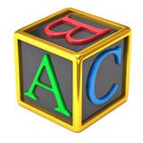 Fototapety abc block