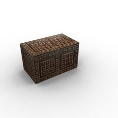 Wooden Style Treasure Box