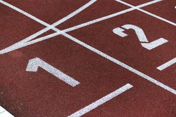 Leichtathletik, Startnummer 1 und 2