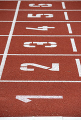 Leichtathletik,Startlinie