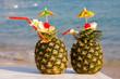 Фото: ананасовый коктейль.  Увеличить: Тайцы - признанные мастера...