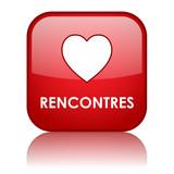 Bouton Web RENCONTRES (couple amour trouver agence matrimoniale) poster