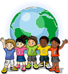 Children united world of peace 1