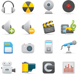 08 Multimedia Icons