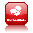 TESTIMONIALS Button (customer satisfaction experience feedback)