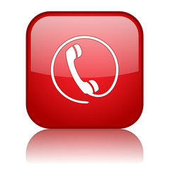 HOTLINE Web Button (call us now phone customer service contact)