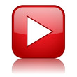 PLAY Web Button (watch video view media player icon music live)