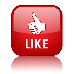 """""""LIKE"""" Web Button (thumbs up vote share recommend comment ok)"""