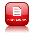 """DISCLAIMERS"" Web Button (privacy policy terms and conditions)"
