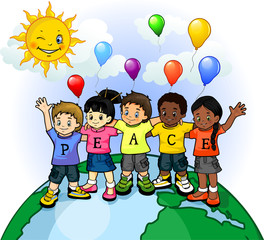 Children united world of peace 2