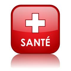 Bouton Web SANTE (médecine forme poids bonne santé exercice)