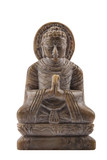 Budha stone sculpture meditation