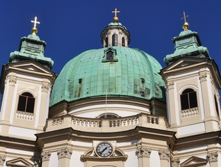 Vienna sightseeing: St. Peter´s Church