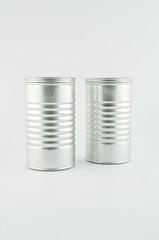 duo de boîte en métal