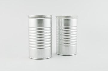 duo de boîtes en métal